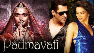 Padmavati FIRST LOOK Out - Deepika Padukone, Salman And Deepika To Do A ROMANTIC Film Together