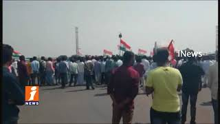Congress Leader Jagga Reddy Demands Flyover On National Highway In Sadasivpet | Sangareddy | iNews