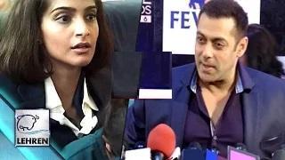 Salman Khan PRAISES Sonam Kapoor's Neerja