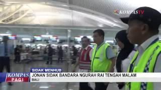 Menhub Jonan Sidak Bandara Bali