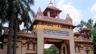 Clash breaks out between ABVP activists, JNU leaders outside BHU