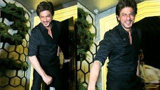 Shahrukh Khan's FUN Moment With Photographers At Gauri Khan's Restaurant Launch