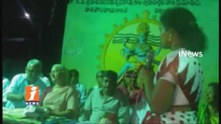 Medha Patkar Visits Godavari Mega Aqua Food In Thundur   West Godavari   iNews