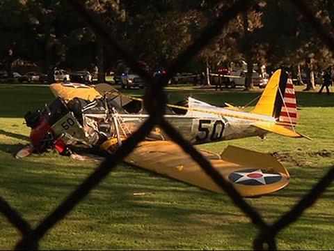 Harrison Ford Hospitalized After Crash Landing News Video