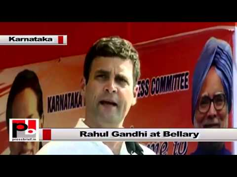 Rahul Gandhi - we will continue to serve the poor along with development