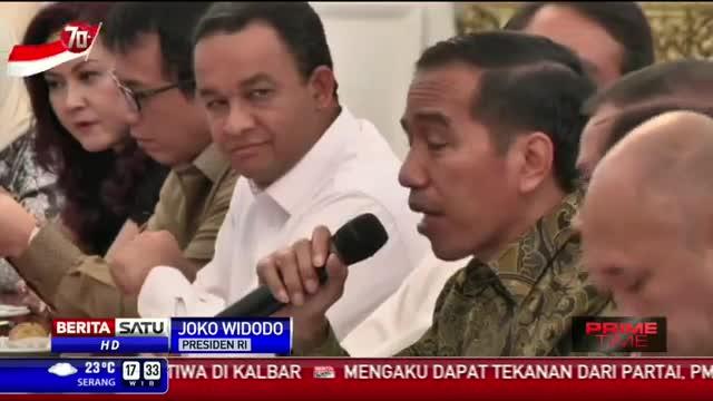 Jokowi Undang Pimpinan Media ke Istana