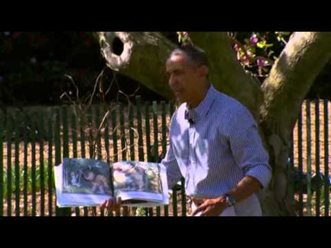 Raw- Obamas Host Annual Easter Egg Roll News Video