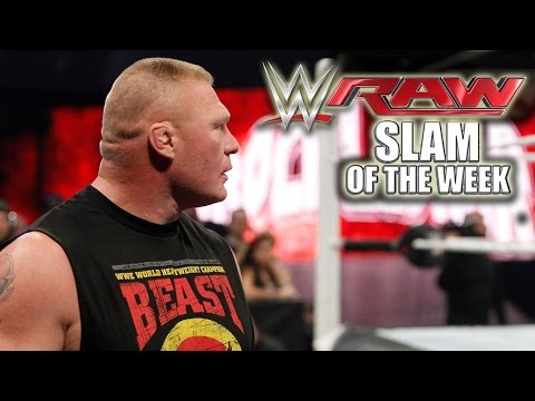 The Beast is Back - WWE Raw Slam of the Week 12/15 - WWE Wrestling Video
