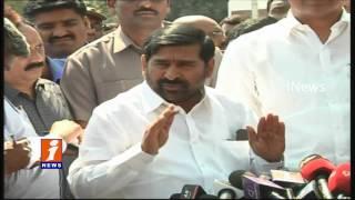 Minister Jagadish Reddy Speaks To Media On Union Budget 2017 | Telangana | iNews