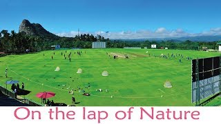 On the lap of nature - Krishnagiri  Cricket Stadium
