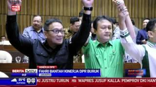 Fahri Hamzah Menolak Kinerja DPR Disebut Buruk