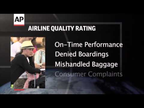 Study- Airline Industry Complaints Drop in 2013 News Video