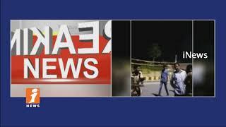Minister Devineni Uma Followers Abused Talk With Police In Ibrahimpatnam | Vijayawada | iNews