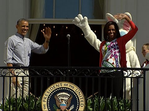 White House Easter Egg Roll Gets Fitness Focus News Video