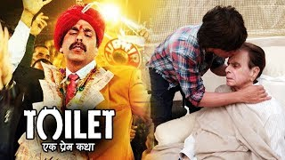 Akshay's Toilet Ek Prem Katha Emerges A BLOCKBUSTER, Shahrukh VISITS Dilip Kumar At His House