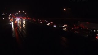 Raw- More than 100 Cars in N.C. Highway Wrecks News Video