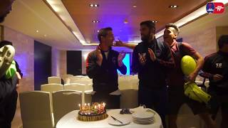 The Lions celebrated Edu's birthday