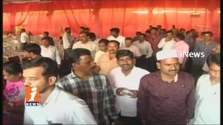 High Tension in Mahabubnagar As Police Obstructs Contributory Pension Service Cancel Meeting | iNews