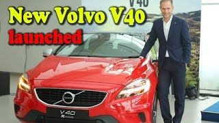 New Volvo V40  launched at INR 25.49 Lakhs - Latest Automobile news Updates
