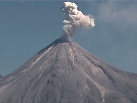 'Fire Volcano' in Mexico Spews Ash and Smoke News Video