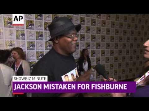 ShowBiz Minute- Temple, Jackson, Oscars News Video