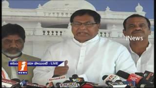 Cong MLA Jana Reddy Speech At Telangana Assembly Media Point   iNews