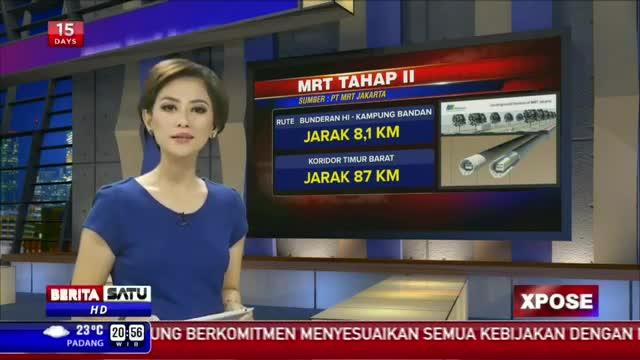 Xpose: Potret MRT Jakarta