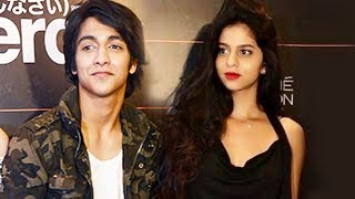 Shahrukh's Daughter Suhana With Ahaan Pandey At Lakme Fashion Week 2017
