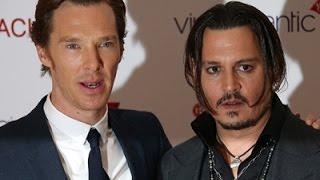 Depp and Cumberbatch Talk 'Black Mass'