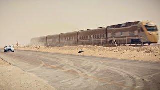 Bentley's Desert Train Race