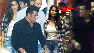 Salman Khan & Katrina Kaif Spotted At Airport, Returns From IFFI Ceremony 2017 Goa