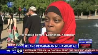 Proses Pemakaman Muhammad Ali di Louisville
