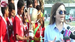 Abhishek Bachchan | John Abraham | Sachin Tendulkar | Nita Ambani At Football Championship