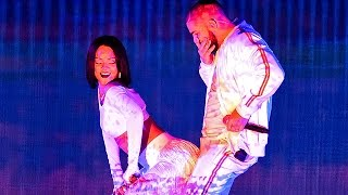 Rihanna and Drake Look Like They're Practically Having $ex During Brit Awards Performance