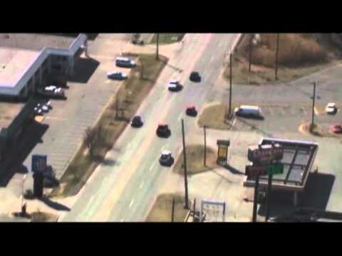 Raw- Okla. High-Speed Chase Ends in Crash News Video
