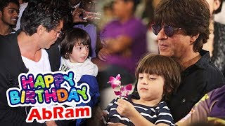 Shahrukh's Son AbRam TURNS 4, Watch Out CUTE Videos - Birthday Special