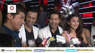 Alia Bhatt, Varun Dhawan Promote Badrinath Ki Dulhania on The Voice India