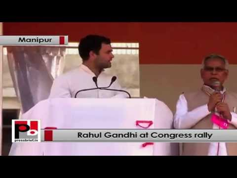 Rahul Gandhi- Youth of Manipur have the immense talent
