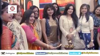 "Rashmi Pitre, Uma Rele, Kishu Pal Attend International Women's Day ""Empowerment"" Painting Exbn"