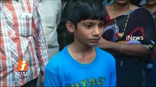 Vice Principal Beats Students In Bhadradri kothagudem | Parents Attacks On School | iNews