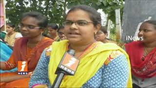Agriculture Students Protest Against AP Govt Over Go No-16 Issues | Srikakulam | iNews