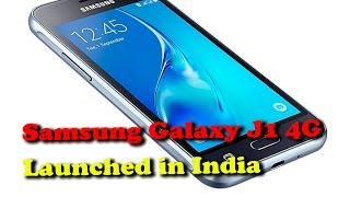 Samsung Galaxy J1 4G Launched in India II RECTVINDIA