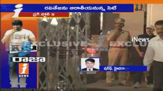 Ravi Teja Reaches To Excise Office | SIT Investigation on Narcotics Case | iNews