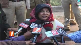 Vizianagaram Railway DRM Chandralekha Mukherjee Observed Hirakhand Train Accident Place   iNews