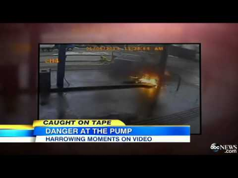 Gas Station Accident, Explosion in New Zealand News Video