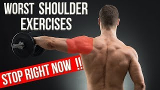 3 WORST SHOULDER EXERCISES YOU MUST STOP DOING
