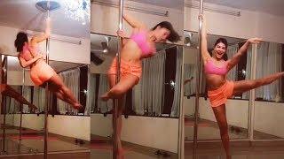 Jacqueline Fernandez's $exy Pole Dance - Watch Video