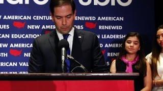 Marco Rubio Ends White House Bid News Video