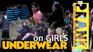UNDERWEAR ON GIRLS PRANK GONE ALMOST WRONG PRANKS IN INDIA TEEN BROS.