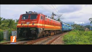 Railway Minister Suresh Prabhu To Launch Peddapalli Nizamabad Railway Service | iNews